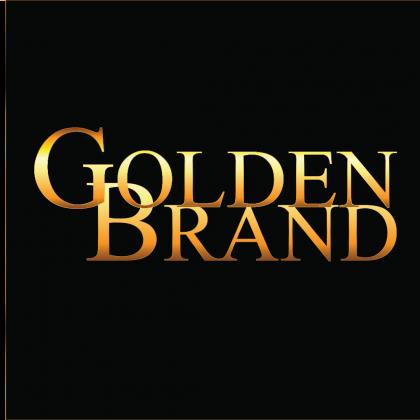 Golden Brand Logo Black